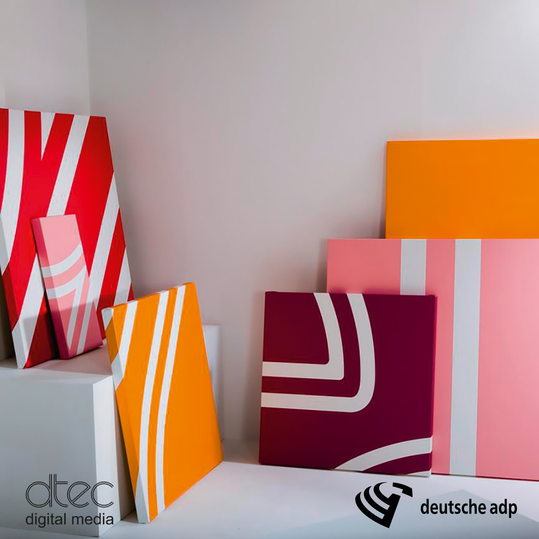 dtec Canvas für Dekorativdrucke und Kunstreproduktionen