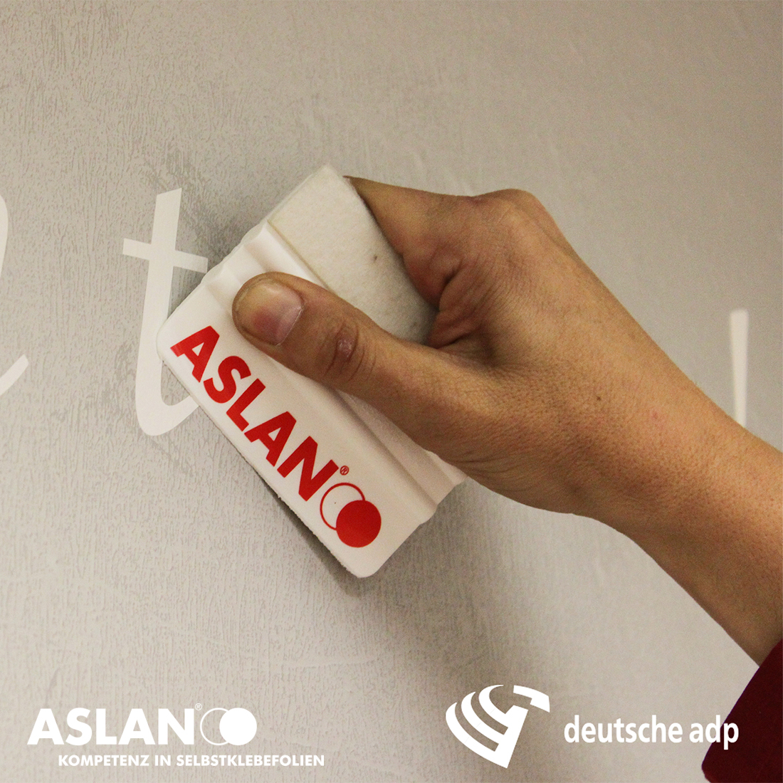 ASLAN S41 Fassadenschablonenfolie