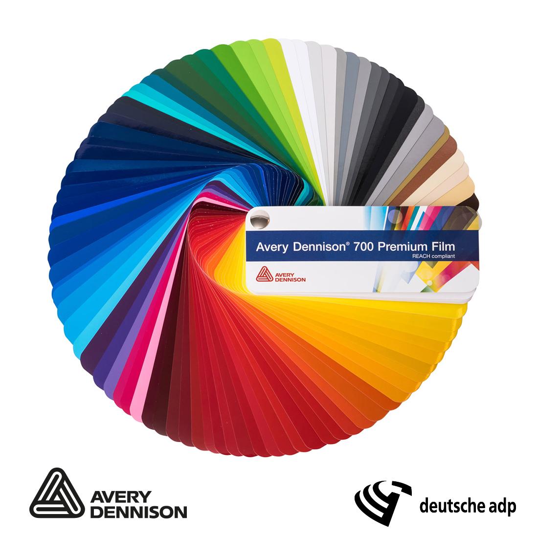 Avery Dennison 700 Premium Film Farbfächer