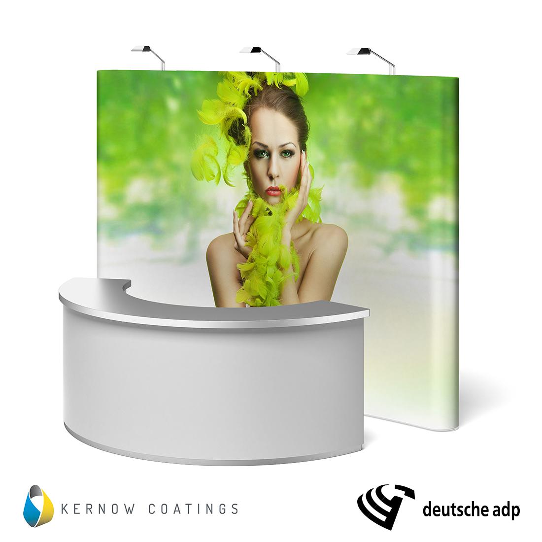KernowJet Folien für Pop-Up Displays und Wandkonstruktionen