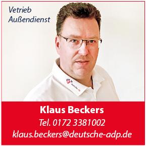 Klaus Beckers